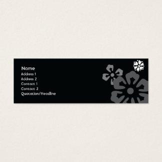 Flowers - Skinny Mini Business Card