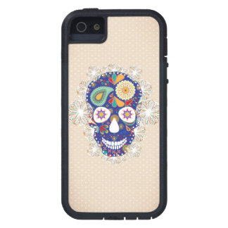 flowers skull iphone iPhone 5 covers