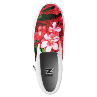 Flowers Slip-On Shoes