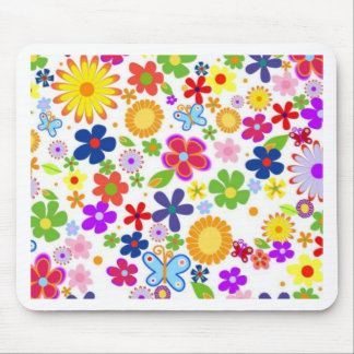 flowers spring mousepad
