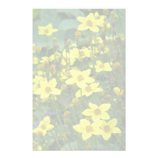 flowers stationery design