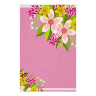 Flowers Stationery