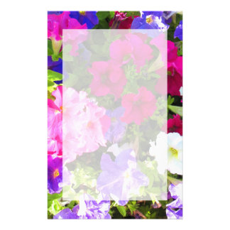 flowers stationery design