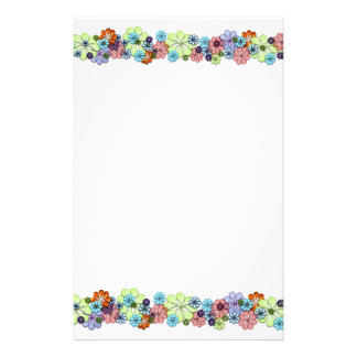 Flowers Stationery Paper