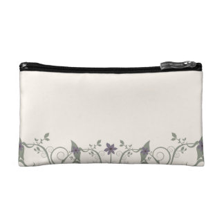 Flowers & Stripes Cosmetic Bags