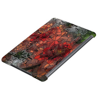 flowers such as stained glass iPad air cases