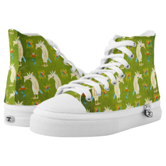 Flowers & Unicorns High Tops