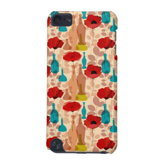 Flowers, vases and bottles pattern iPod touch 5G covers