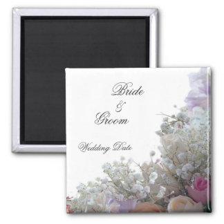Flowers Wedding Favor Magnet