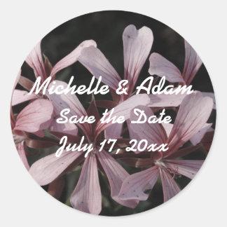Flowers Wedding Sticker