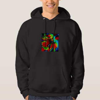 Flowers with color kick 1 hoodie
