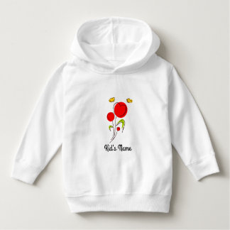 Flowers with Hearts Hoodie