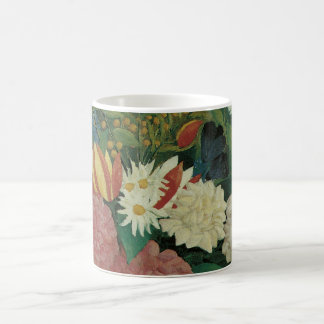 Flowers with Ivy by Henri Rousseau, Vintage Floral Mug