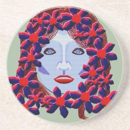 Flowers Women Coaster