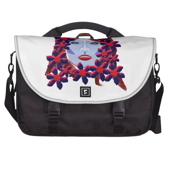 Flowers Women Computer Bag