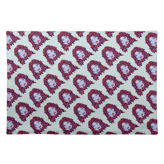 Flowers Women Placemat