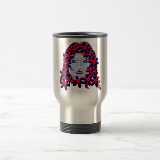 Flowers Women Travel Mug