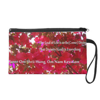 Flowers Wristlet Clutches