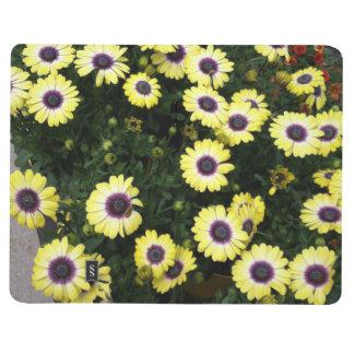 Flowers Yellow Purple Journal