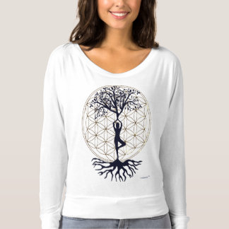 Flowertree OF Life Longsleeve T-Shirt
