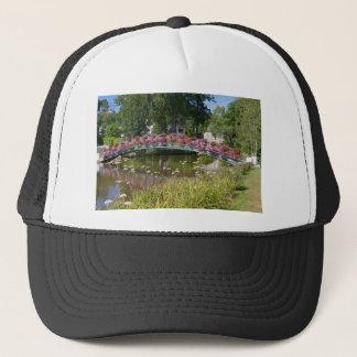 Flowery bridge at Bagnoles-de-l'Orne Trucker Hat
