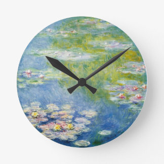 Flowery clock