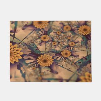 Flowery Doormat