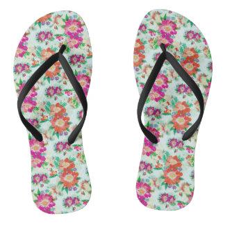 Flowery Flip-flops Thongs