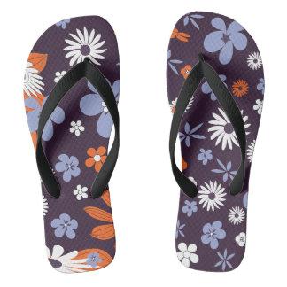 flowery funky flipflop thongs