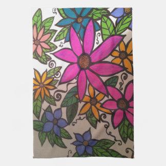 FLOWERY Kitchen Towel