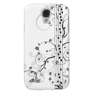Flowery Music Samsung Galaxy S4 Covers