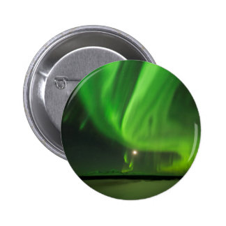 Flowing Aurora 6 Cm Round Badge