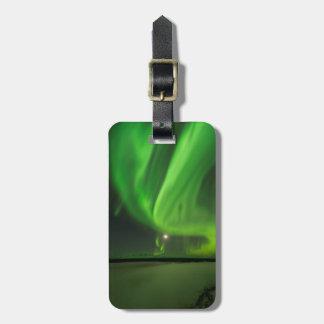 Flowing Aurora Luggage Tag