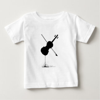 Flowing Fiddle Music Baby T-Shirt