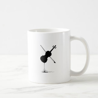 Flowing Fiddle Music Coffee Mug