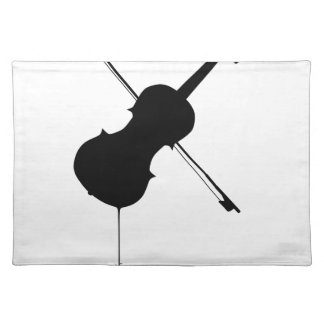 Flowing Fiddle Music Placemat