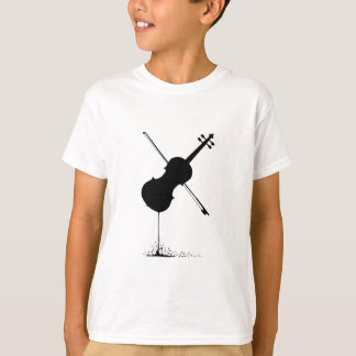 Flowing Fiddle Music T-Shirt