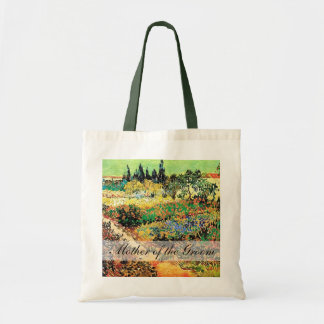 flowing garden with path, van Gogh Budget Tote Bag