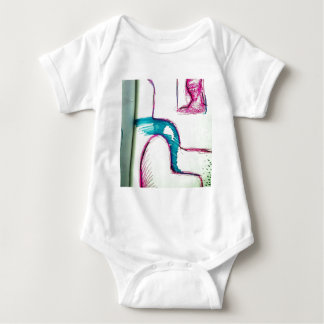 Flowing into the Next Melody Baby Bodysuit