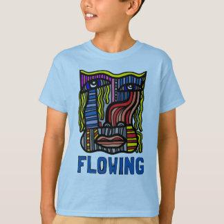 """Flowing"" Kids' Hanes TAGLESS® T-Shirt"
