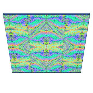 Flowing Life Organic Art Big Diamond Section, Xlrg Canvas Print