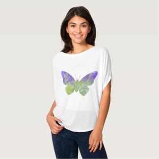 Flowing Purple Butterfly TShirt