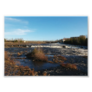 Flowing River Photo Art