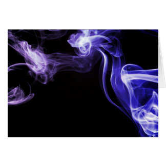 Flowing Smoke Greeting Card
