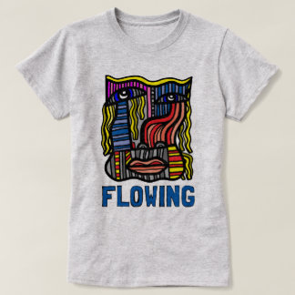"""Flowing"" Women's T-Shirt"