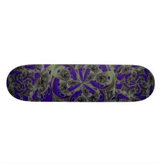 Flowist Blue Film Skate Board Deck