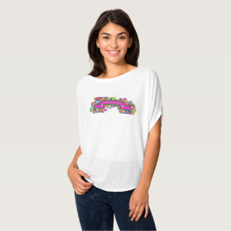 Flowy t shirt with Hippy Angel Logo
