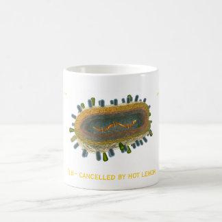 Flu - cancelled by hot lemon coffee mug