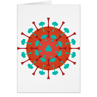 Flu Virus Greeting Cards