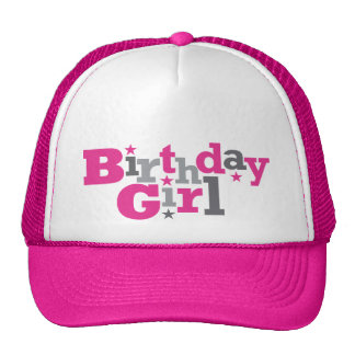 Fluctuating Type Birthday Girl Hat